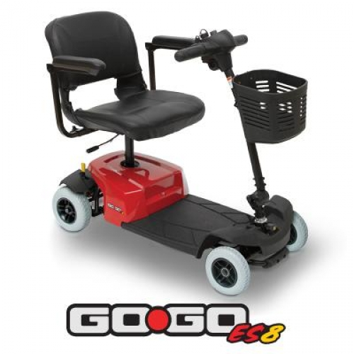 Pride go go es8 mobility scooter for Go go motorized scooter